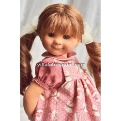 POUPEE MÜLLER WICHTEL JANINA - poupée de collection de Rosemarie Müller