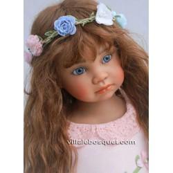 ANGELA SUTTER POUPEE HORTENSE - poupée d'artiste unique d'Angela Sutter