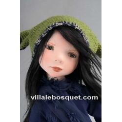 ZWERGNASE POUPEE ALKIONE 1 - poupée d'artiste Zwergnase