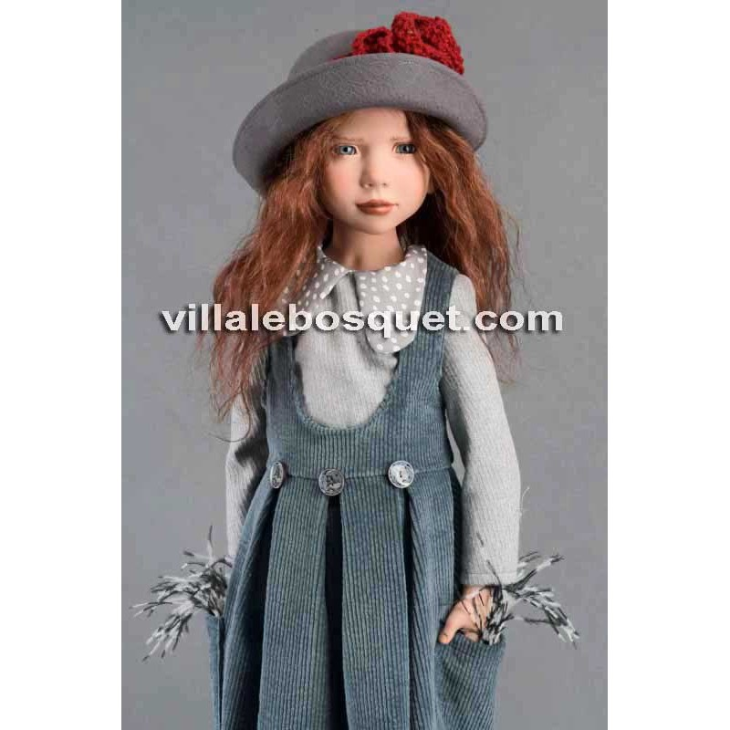 ZWERGNASE POUPEE ZINAIDA - poupée d'artiste Zwergnase 2019