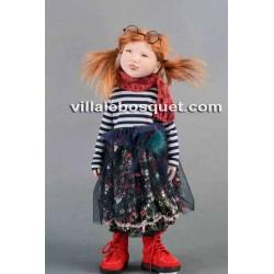 ZWERGNASE POUPEE FIBI - poupée d'artiste Zwergnase 2019