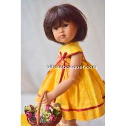 HEIDI PLUSCZOK POUPEE COSMA - poupée de l'artiste Heidi Plusczok