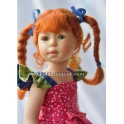 HEIDI PLUSCZOK POUPEE LILOU - poupée de l'artiste Heidi Plusczok