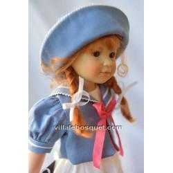 HEIDI PLUSCZOK POUPEE PINELLA - poupée de l'artiste Heidi Plusczok