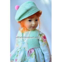 HEIDI PLUSCZOK POUPEE TINE - poupée de l'artiste Heidi Plusczok