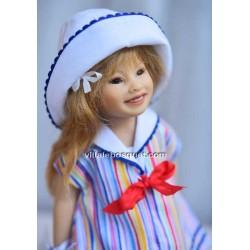 HEIDI PLUSCZOK POUPEE ANKE - poupée de l'artiste Heidi Plusczok