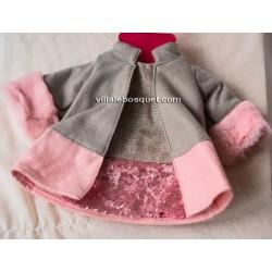 GÖTZ MANTEAU AVEC FOURRURE - vêtement Götz pour poupées