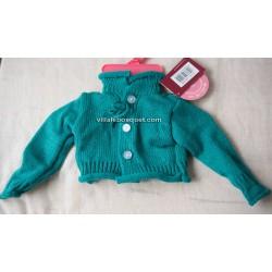 GÖTZ VESTE DE TRICOT ROSE - vêtement Götz pour poupées