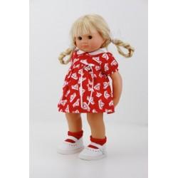 POUPEE MÜLLER WICHTEL LIONELLE - poupée de collection de Rosemarie Müller