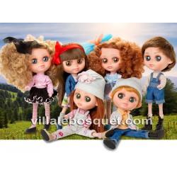 BERJUAN POUPEE THE BIGGERS TREBOR FLYNN - poupées à jouer 32 cm