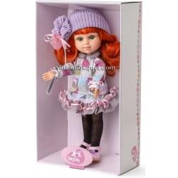BERJUAN POUPEE MY GIRL LILA - poupées à jouer 35 cm