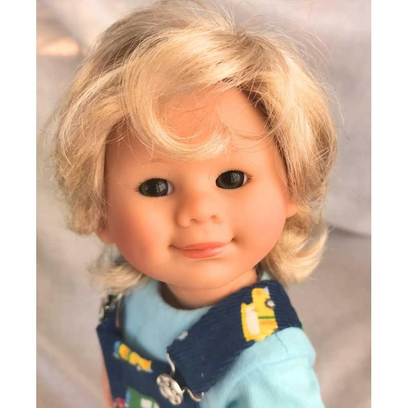 POUPEE MÜLLER WICHTEL THOMAS - poupée de collection de Rosemarie Müller