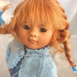 POUPEE MÜLLER WICHTEL ROSE- poupée de collection de Rosemarie Müller