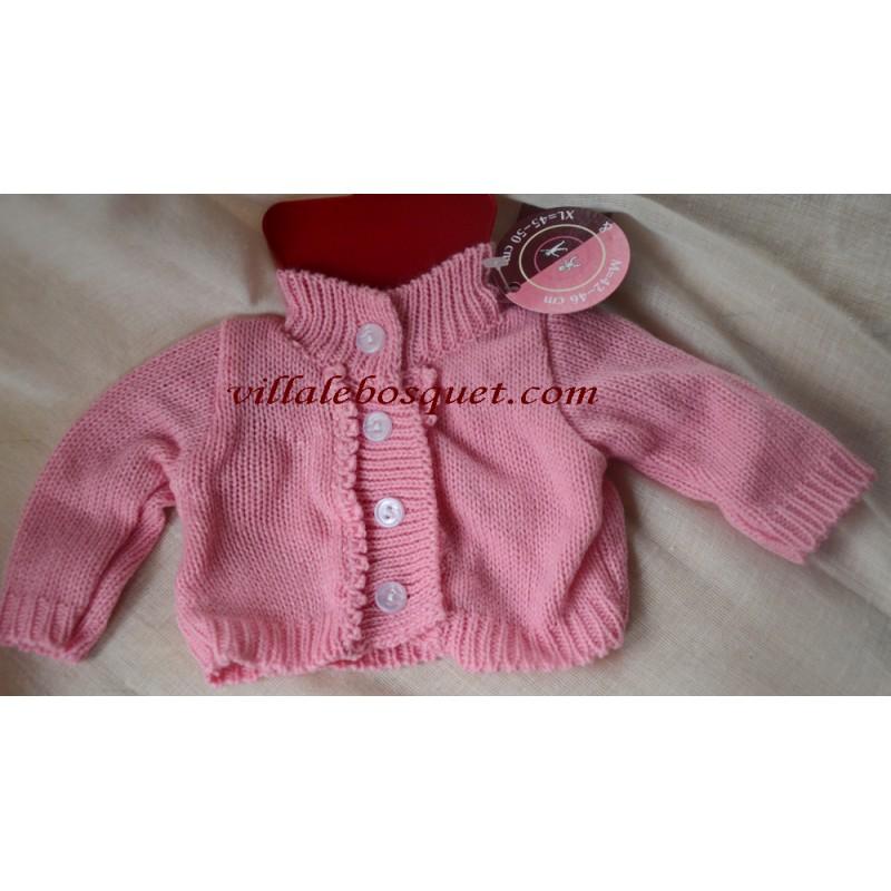 Veste classique en tricot