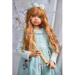 RUBINA, superbe poupée unique d'Angela Sutter