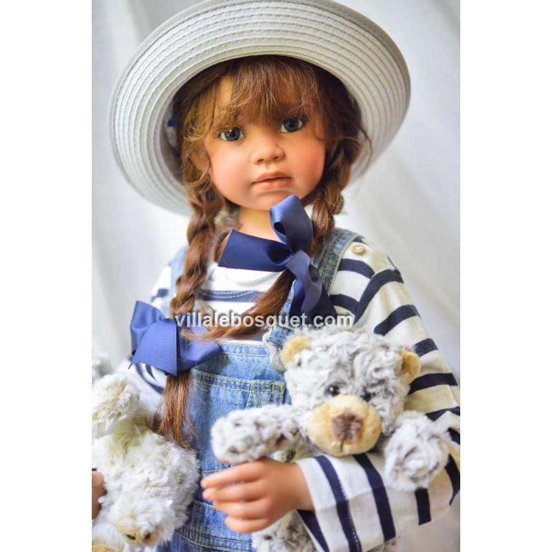 MARIE-PIERRE ANGELA SUTTER - poupée d'artiste unique d'Angela Sutter