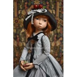 Hinsemine, magnifique poupée d'artiste Zwergnase, 80 cm