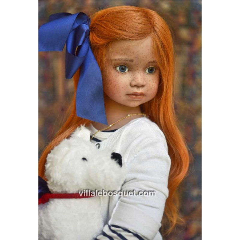Merveilleuse Irina, poupée d'artiste Angela Sutter