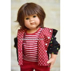 Stella, adorable poupée Müller Wichtel