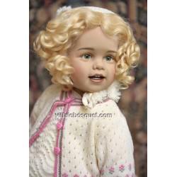 Fenja, ravissante poupée de Sissel Skille pour Götz