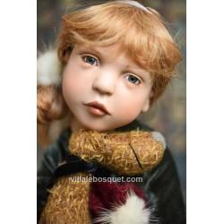 Ayda, magnifique poupée limitée de Zwergnase