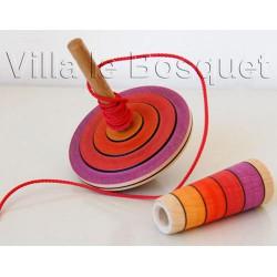 """TOUPIE """"MY FIRST TOP"""" - toupie en bois pour enfants"""