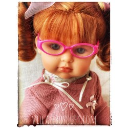 WE GIRLS LUNETTES ROSES -...
