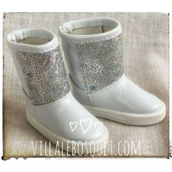 BOTTES BLANCHES A...