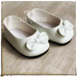BALLERINES BLANCHES POUR...