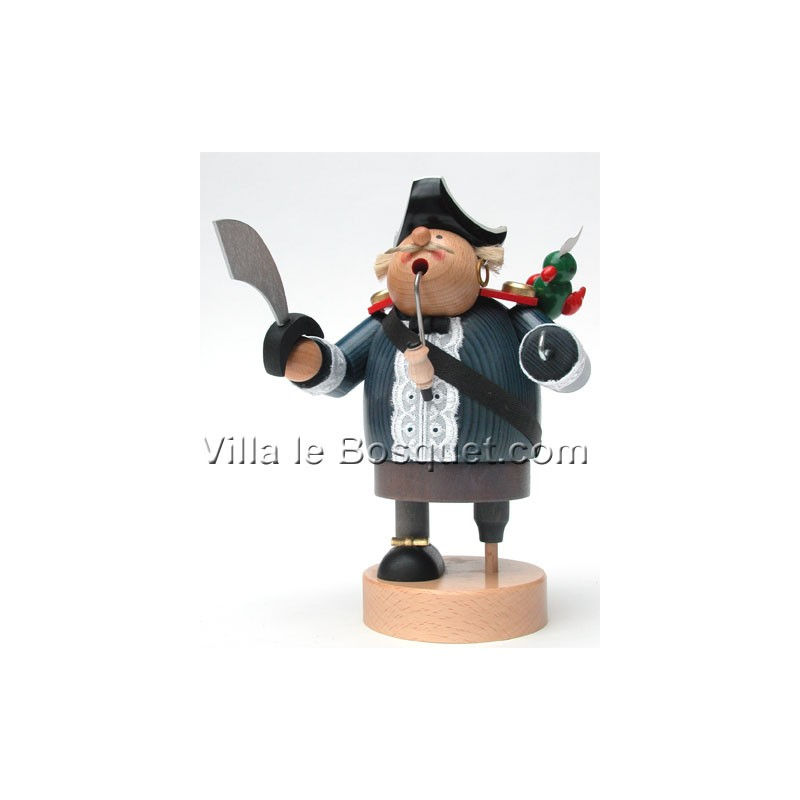 Deco Maison Pirate Figurine En Bois Cadeau Decoratif
