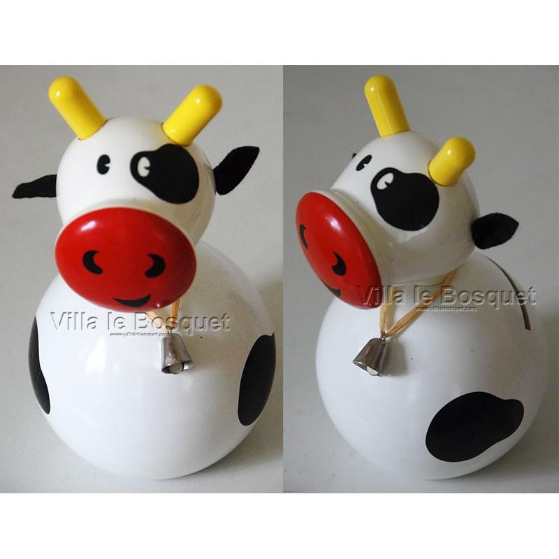 Tirelire vache tirelire en bois d co chambre d 39 enfant - Deco chambre d enfant ...