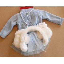 GÖTZ VETEMENT REINE DE PATINAGE - vêtement Götz pour poupées