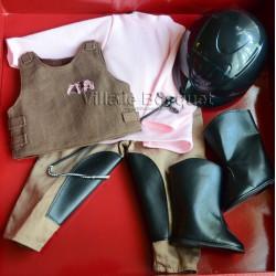GÖTZ VETEMENT DE POUPEE D'EQUITATION - vêtement Götz pour poupées