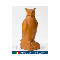 HIBOU - figurine de collection - animal en bois