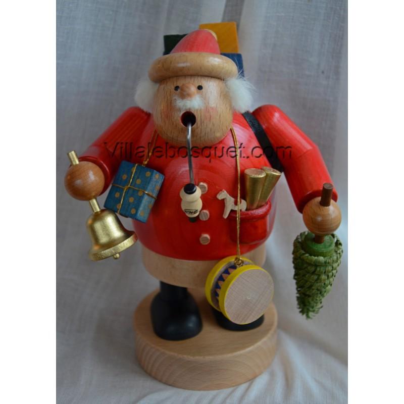DECO MAISON PERE NOEL - figurine en bois - cadeau decoratif - Villa le ...