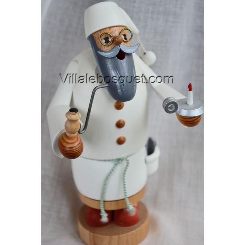 DECO MAISON GRAND PERE A AU PETIT COIN - figurine en bois - cadeau decoratif