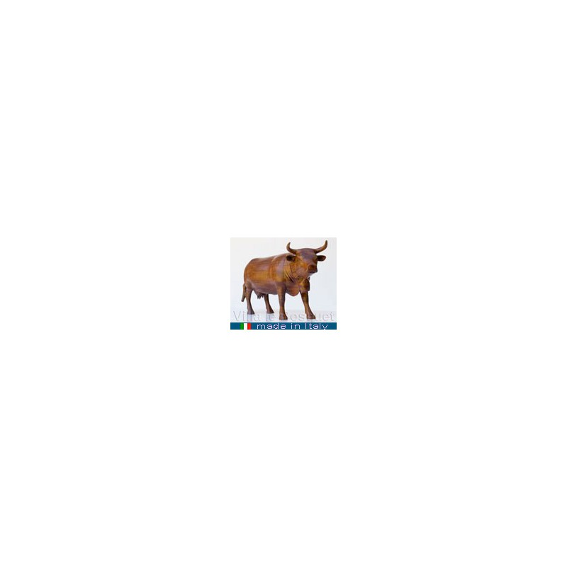 VACHE - figurine de collection - animal en bois