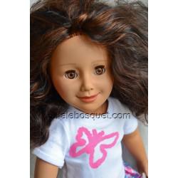 POUPEE WE GIRL SCARLETT - poupée à jouer fabriquée en Allemagne