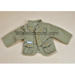 WE GIRLS VESTE STYLE MILITAIRE - vêtement We Girls pour poupées