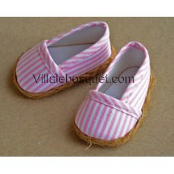 FINOUCHE ESPADRILLES DE POUPEE - chaussures de poupée