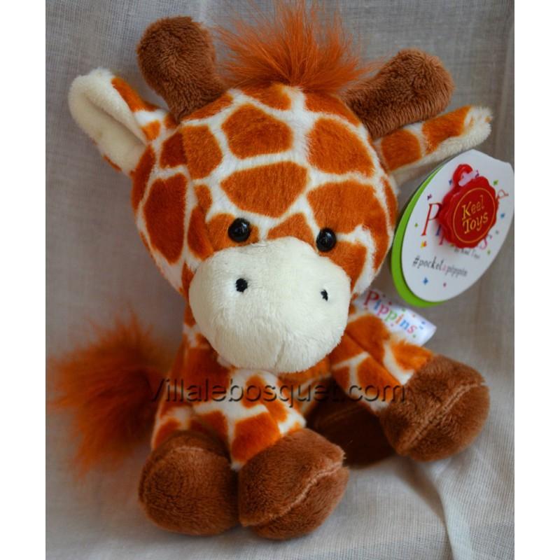 PELUCHE PIPPINS GIRAFE - peluche de Keel Toys