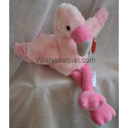 PELUCHE PIPPINS FLAMAND ROSE - peluche de Keel Toys