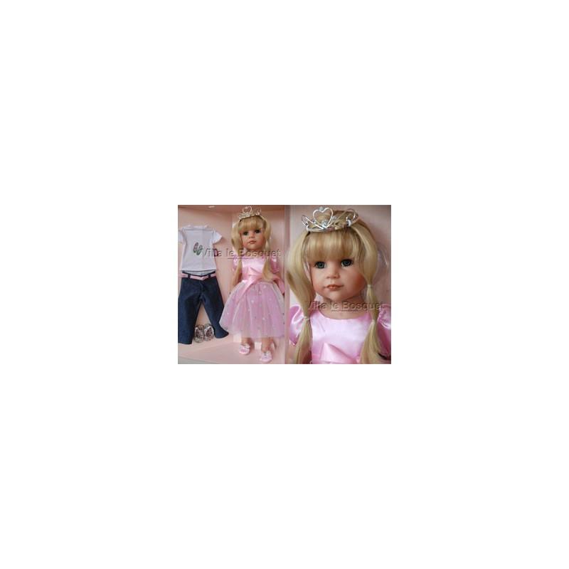 GÖTZ POUPEE HANNAH PRINCESSE - poupée à jouer GÖTZ