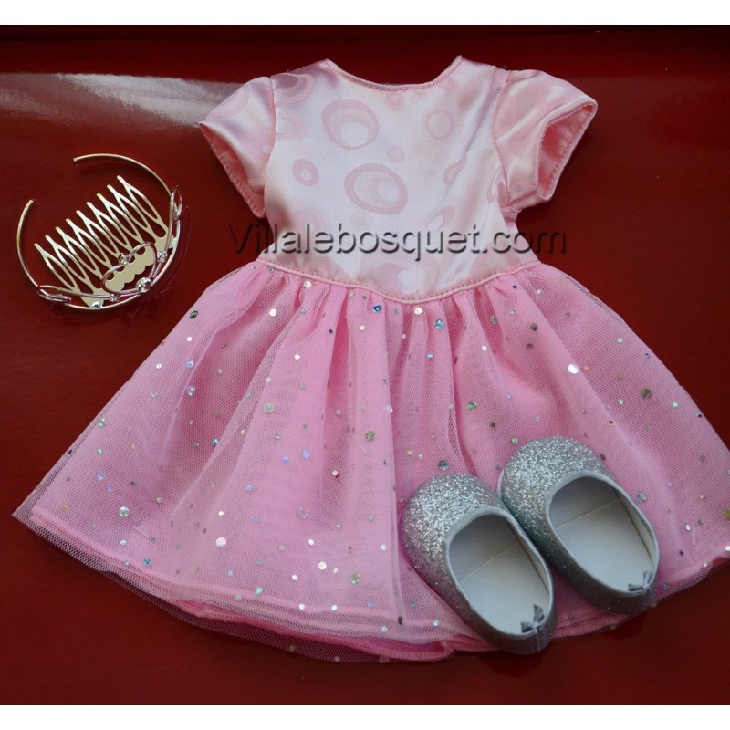 GÖTZ ROBE DE PRINCESSE - vêtement Götz pour poupées
