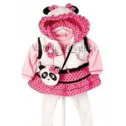 VETEMENT ADORA PINK PANDA FUN- vêtement pour poupées Adora
