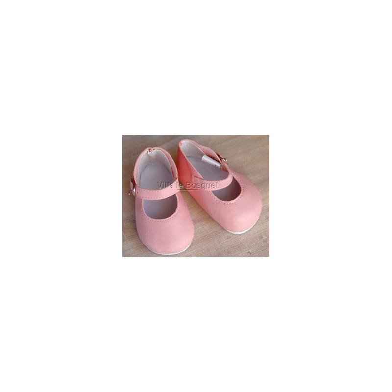 CHAUSSURES ADORA MARY JANE ROSES - chaussures pour poupées Adora