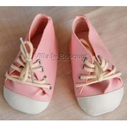 CHAUSSURES ADORA TENNIS ROSES - chaussures pour poupées Adora