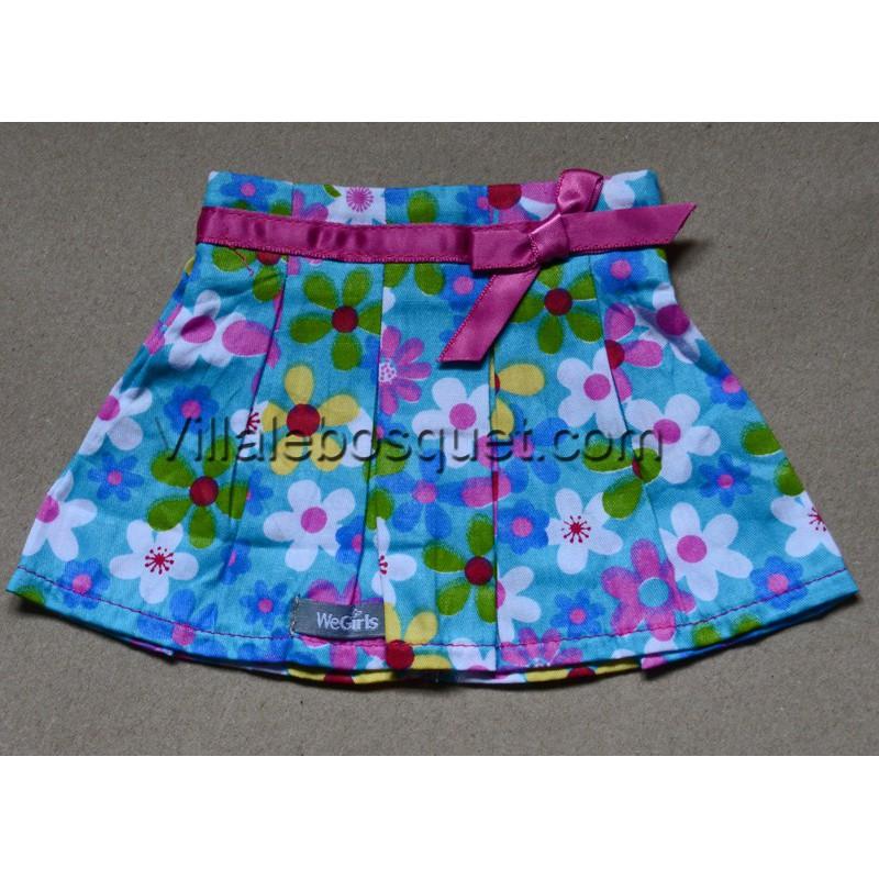 WE GIRLS JUPE FLORALE - vêtement We Girls pour poupées