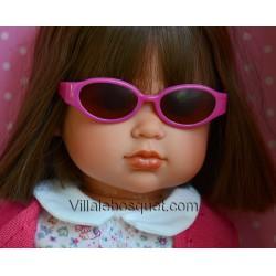 WE GIRLS LUNETTES DE SOLEIL ROSES - accessoire We Girls pour poupées