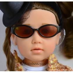 WE GIRLS LUNETTES DE SOLEIL NOIRES - accessoire We Girls pour poupées